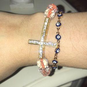Jewelry - Cross embellished bracelet